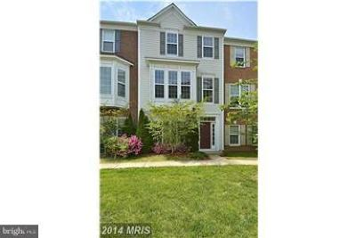 Centreville Townhouse For Sale: 5030 Cool Fountain Lane