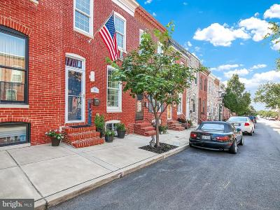 Baltimore Townhouse For Sale: 805 Bouldin Street S