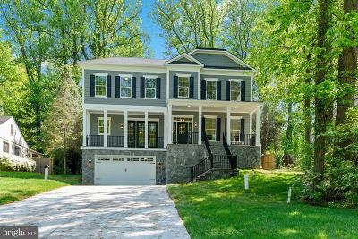 Bethesda Single Family Home For Sale: 5817 Bradley Boulevard