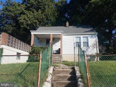 Capitol Heights Single Family Home For Sale: 1707 Quarter Avenue
