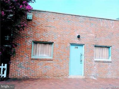 Richmond Commercial For Sale: 210 Marshall Street