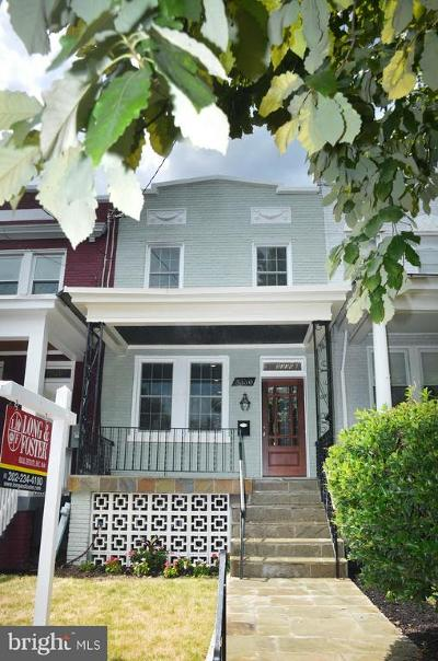 Washington Townhouse For Sale: 5330 5th Street NW