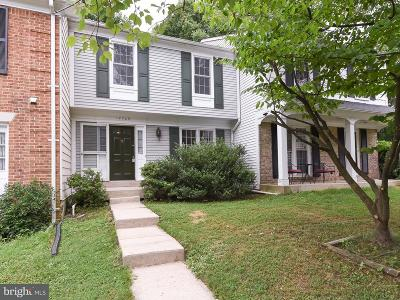 Silver Spring Townhouse For Sale: 12725 Turquoise Terrace