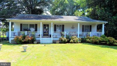 Colonial Beach Single Family Home For Sale: 310 Lakeview Drive