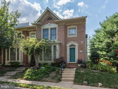Fairfax Townhouse For Sale: 11766 Valley Ridge Circle
