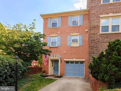 Falls Church Townhouse For Sale: 201 Great Falls Street