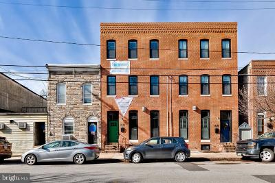 Locus Point, Locust Point, Locust Point/Silo Point Townhouse For Sale: 1424 Hull Street