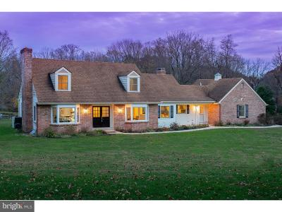 Bucks County Single Family Home For Sale: 2992 Comfort Road