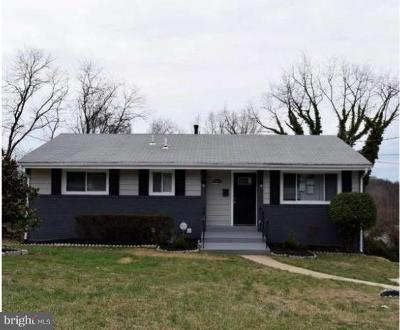 Suitland Single Family Home For Sale: 3355 Southern Avenue