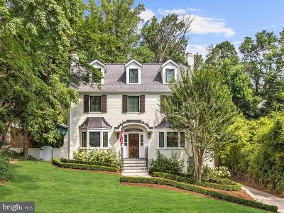 Chevy Chase Single Family Home For Sale: 3307 Woodbine Street