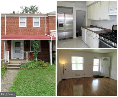 Baltimore County Rental For Rent: 2151 Coralthorn Road
