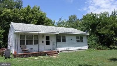 Crisfield Single Family Home For Sale: 128 Maple Street