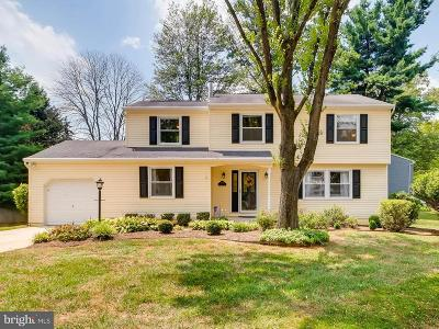 Columbia Single Family Home Under Contract: 5622 Millwheel Place