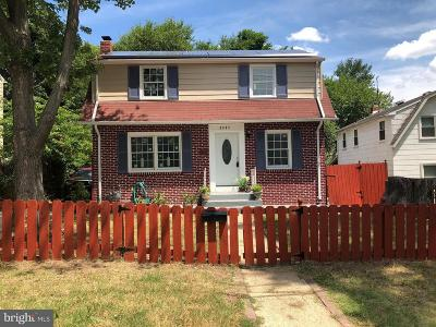 Hyattsville Single Family Home For Sale: 5903 15th Avenue