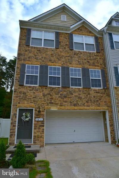 Laurel Townhouse For Sale: 8433 Winding Trail