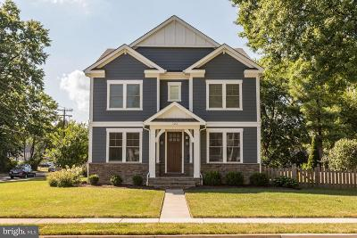 Vienna, Mclean Single Family Home For Sale: 123 Locust Street SW
