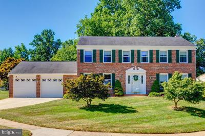 Burke, Springfield Single Family Home For Sale: 8651 Wind Song Court