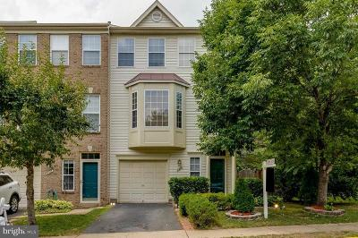 Centreville Townhouse For Sale: 6310 James Harris Way
