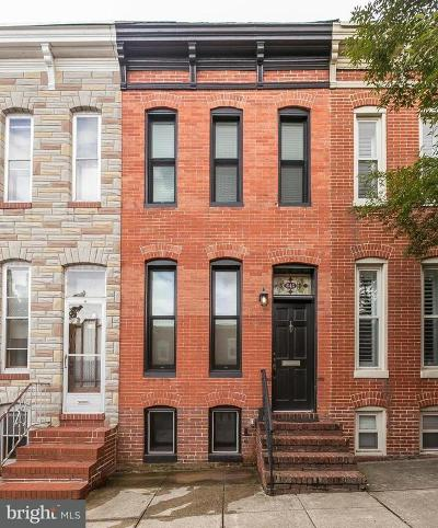 Baltimore City Rental For Rent: 645 Clement Street
