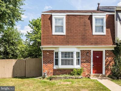 Stafford County Townhouse Active Under Contract: 1133 James Madison Circle