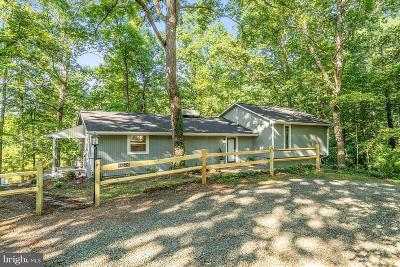 Culpeper County Single Family Home For Sale: 10344 River Road