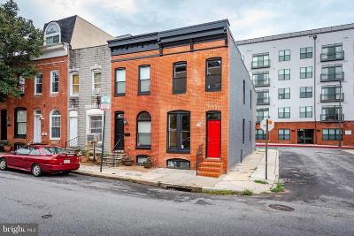Canton, Federal Hill, Federal Hill Area, Federal Hill;, Federall Hill, Fell Point, Fells Point, Fells Point Upper, Inner Harbor Single Family Home For Sale: 23 Barney Street E