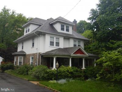 Jenkintown Single Family Home For Sale: 123 Township Line Road