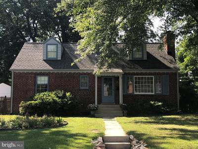 Silver Spring Single Family Home For Sale: 11509 Regnid Drive