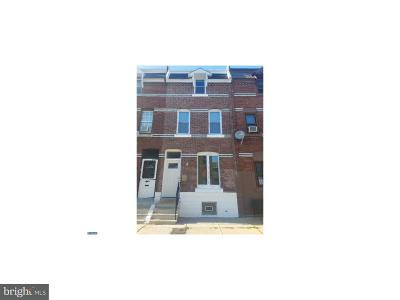 Brewerytown Townhouse For Sale: 2519 Turner Street