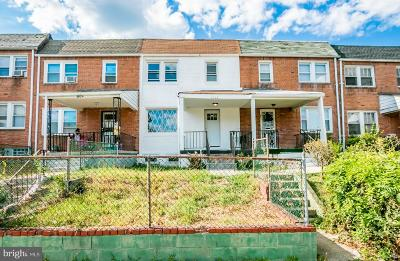 Baltimore Townhouse For Sale: 2922 Oakford Avenue