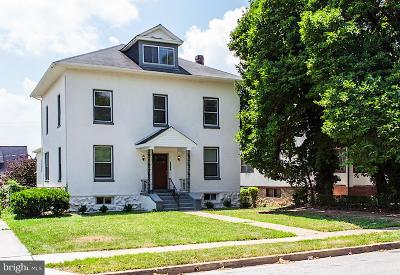Baltimore Single Family Home For Sale: 3909 Barrington Rd NE