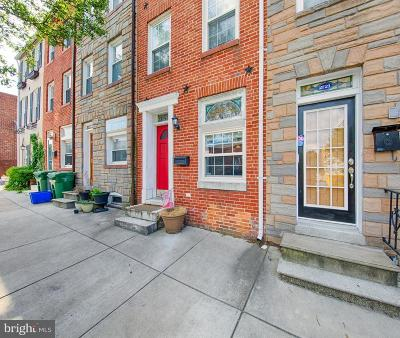 Baltimore Townhouse For Sale: 2723 Hudson Street