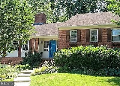 Arlington County Single Family Home For Sale: 3443 Venice Street