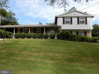 Temple Hills Single Family Home For Sale: 6208 Summerhill Road
