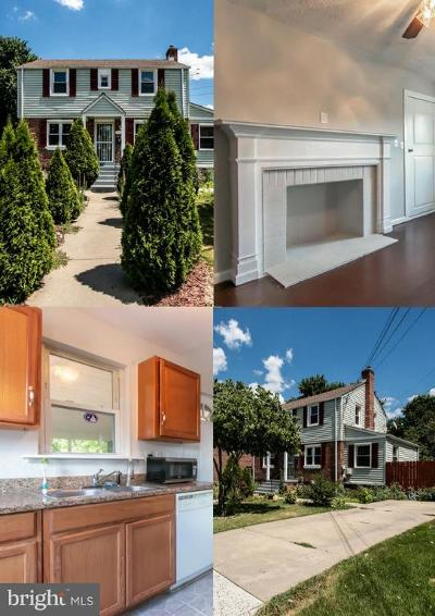 Hyattsville Single Family Home For Sale: 5415 21st Place