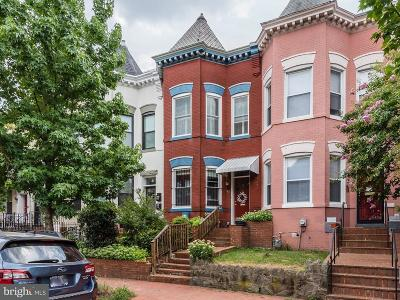 Washington Townhouse For Sale: 42 Randolph Place NW