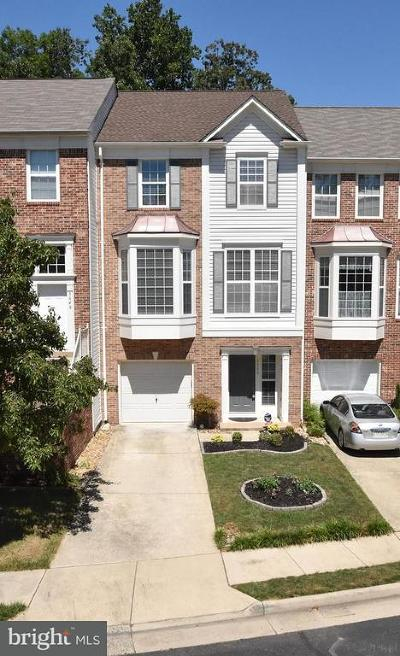 Woodbridge Townhouse For Sale: 3646 Bracknell Drive