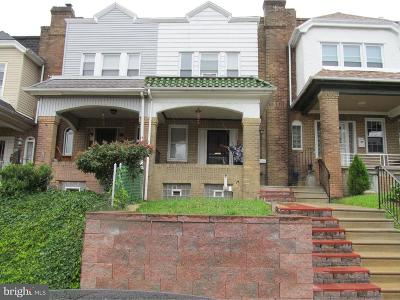 Philadelphia PA Townhouse For Sale: $140,000