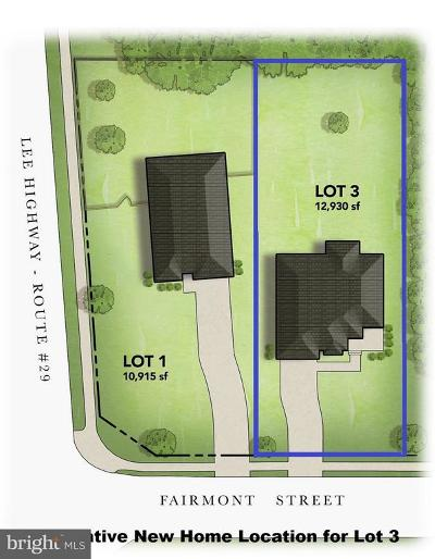 Falls Church Residential Lots & Land For Sale: 2843 Fairmont Street