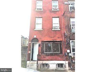 Philadelphia PA Townhouse For Sale: $60,000
