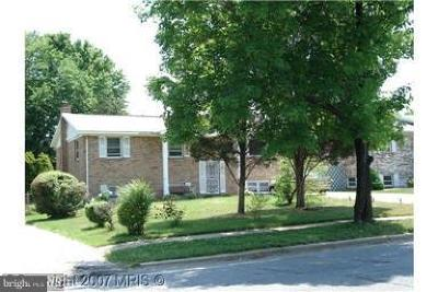 Suitland Single Family Home Active Under Contract: 2514 Shadyside Avenue