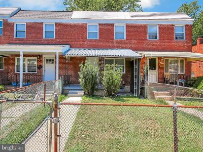 Baltimore MD Townhouse For Sale: $154,000