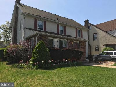 Drexel Hill PA Single Family Home For Sale: $250,000