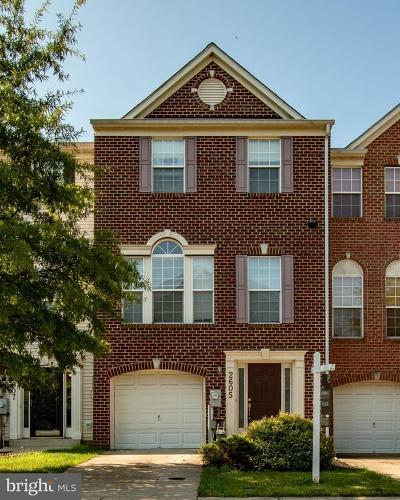 Odenton Townhouse For Sale: 2605 Rainy Spring Court