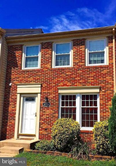 Perry Hall Townhouse For Sale: 8724 Silver Hall Road