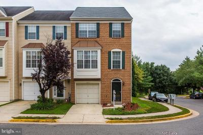 Centreville Townhouse For Sale: 6041 Callaway Court
