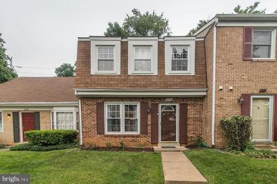 Falls Church Townhouse For Sale: 2531 Herrell Court