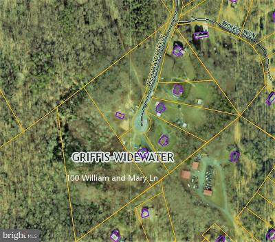 Stafford Residential Lots & Land For Sale: 100 William And Mary Lane