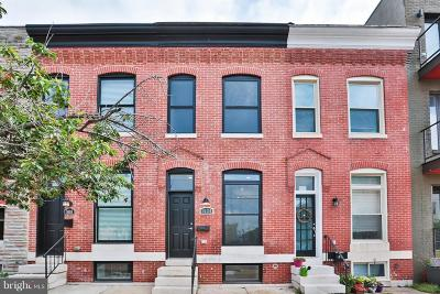 Locus Point, Locust Point, Locust Point/Silo Point Townhouse For Sale: 1620 Clement Street