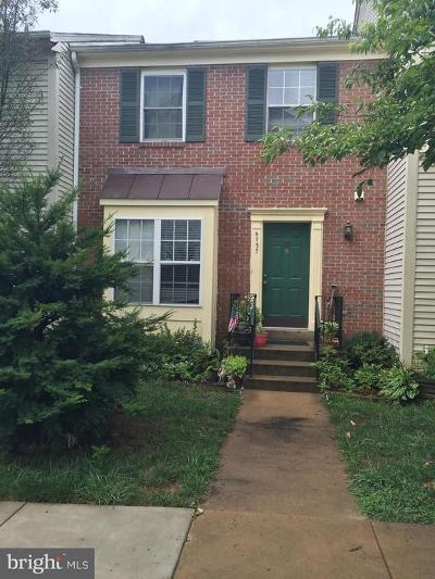 Centreville Townhouse For Sale: 6737 Jenny Leigh Court